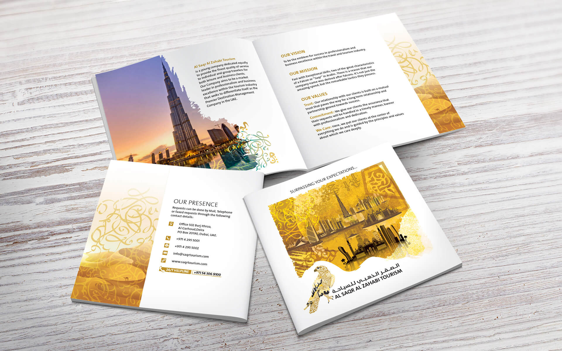 Golden Falcon Dubai